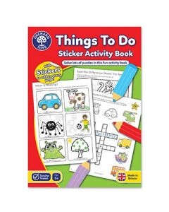 Orchard Toys CB06 Things To Do Colouring Book