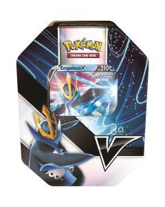 Pokemon TCG POK82904 VStrikes Tin (Tyranitar V/ Empoleon V)
