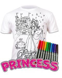 Splat Planet Princess T Shirt Age 5-6 Width 40cm Length 50cm