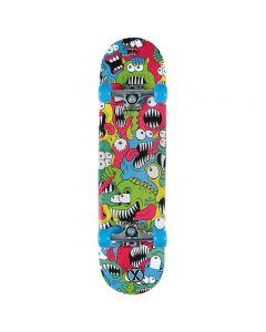 "Wilton TY5843 Xootz 31'' DoubleKick ""Chompers"" Skateboard"