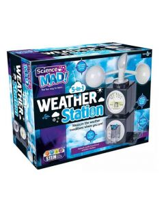 Sceince Mad SM51 Scence Mad 5 in 1 Weather Station