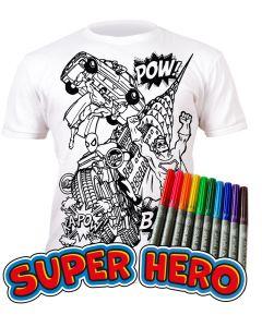 Splat Planet Superhero Age 7-8 Width 43cm Length 50cm