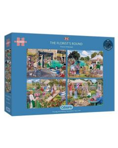 Gibsons G5058 The Florists Round. 4 x 500 Piece