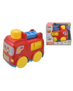Infunbebe TY2396 Press N Go Fire Engine .