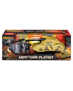 Combat Mission TY5514 Army Tank Playset .