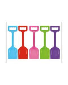 "Wilton BU1092 11"" Plastic Spade Assorted Colours"